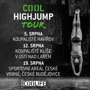 Prima COOL a HIGHJUMP startují sérii COOL HIGHJUMP TOUR!