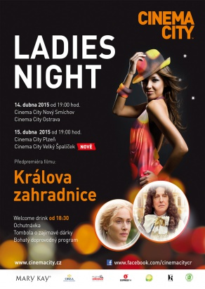 Výherkyně vstupenek na Ladies night v Cinema City Brno