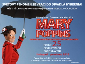 MARY POPPINS SE VRACÍ DO HYBERNIE!