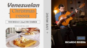 LAST EVENTS OF THE 2016 - VENEZUELAN TYPICAL CHRISTMAS DINNER