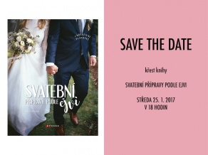 Nová kniha Save the date