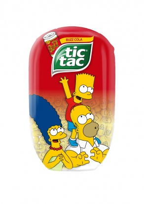 Novinka_Tic Tac The Simpsons II