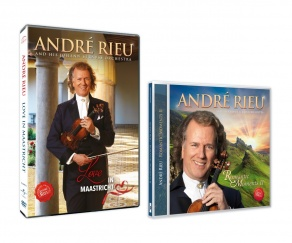 André Rieu vydává DVD Love in Maastricht a CD Romantic Moments II!