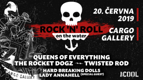 Prima COOL a Cargo Gallery ti přináší nejlepší rock'n'rollovej mejdan Rock'n'roll on the Water